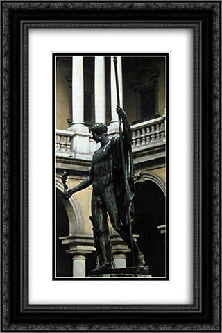 Napoleon I 16x24 Black or Gold Ornate Framed and Double Matted Art Print by Antonio Canova