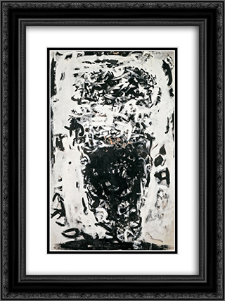 Senza titolo (senza titolo 3559) 18x24 Black or Gold Ornate Framed and Double Matted Art Print by Antonio Sanfilippo