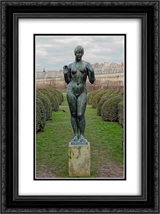 Venus 18x24 Black or Gold Ornate Framed and Double Matted Art Print by Aristide Maillol