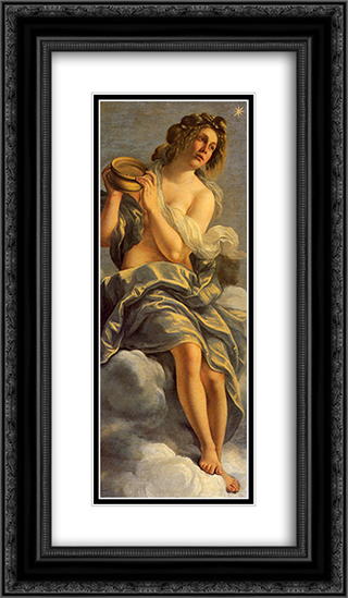 Allegoria dell'Inclinazione 14x24 Black or Gold Ornate Framed and Double Matted Art Print by Artemisia Gentileschi