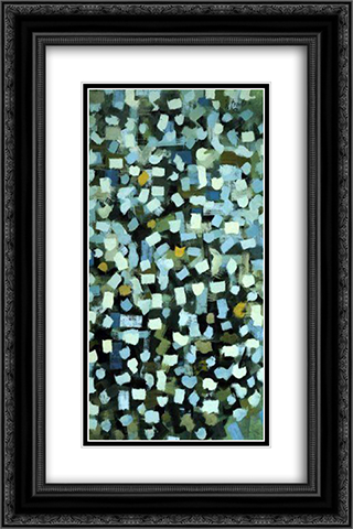 No. 5 16x24 Black or Gold Ornate Framed and Double Matted Art Print by Bradley Walker Tomlin