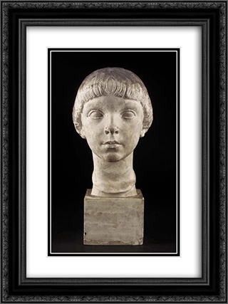 Jacquot 18x24 Black or Gold Ornate Framed and Double Matted Art Print by Charles Despiau