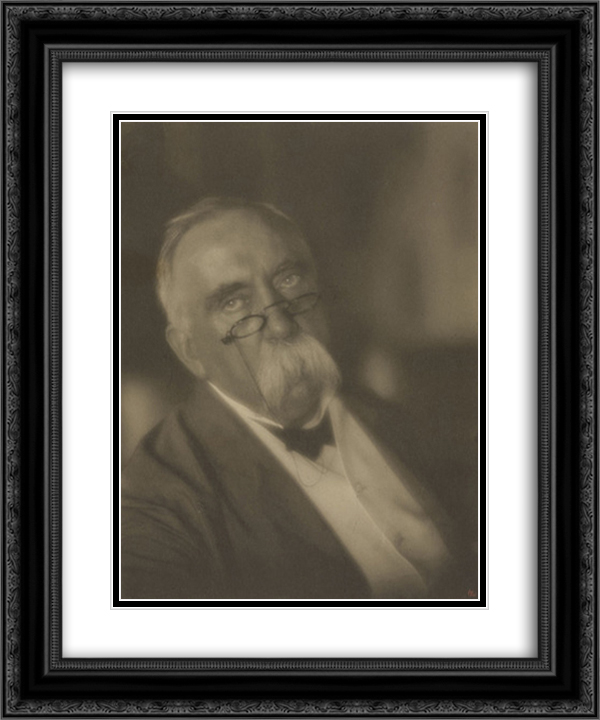 Director of the Hagerstown National Bank 20x24 Black or Gold Ornate Framed and Double Matted Art Print by Clarence White