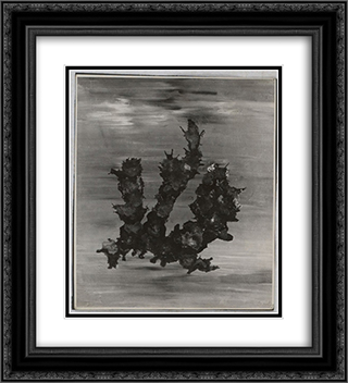 Untitled Vaporization 20x22 Black or Gold Ornate Framed and Double Matted Art Print by Dolfi Trost