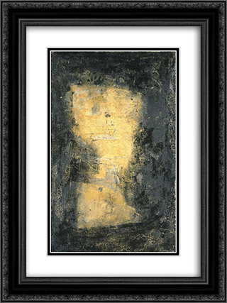 Bolo 18x24 Black or Gold Ornate Framed and Double Matted Art Print by Emil Schumacher
