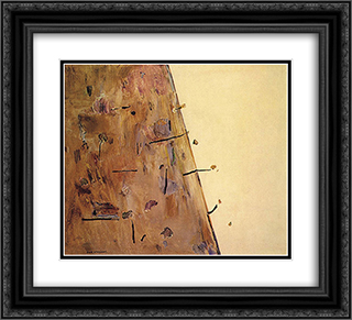 Hillside I 22x20 Black or Gold Ornate Framed and Double Matted Art Print by Fred Williams