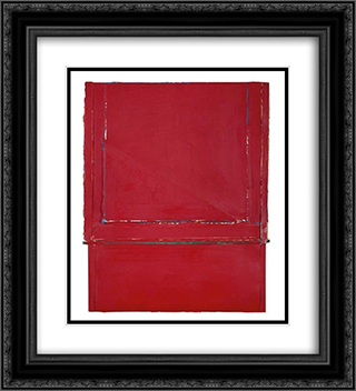 Vermilion - California - Levels of Meaning #4B 20x22 Black or Gold Ornate Framed and Double Matted Art Print by Frederic Matys Thursz