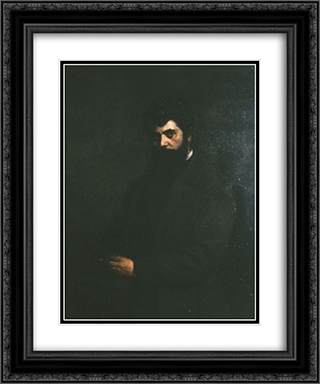 Nikolaos Politis, Student in Munich 20x24 Black or Gold Ornate Framed and Double Matted Art Print by Georgios Jakobides