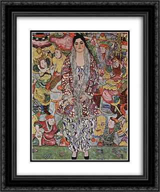 Fredericke Maria Beer 20x24 Black or Gold Ornate Framed and Double Matted Art Print by Gustav Klimt