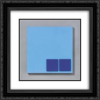 28856 20x20 Black or Gold Ornate Framed and Double Matted Art Print by Henryk Stazewski