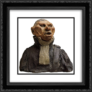 Andre-Marie-Jean-Jacques Dupin, Also Called Dupin the Elder (1783-1865), Deputy, Lawyer, Academician 20x20 Black or Gold Ornate Framed and Double Matted Art Print by Honore Daumier