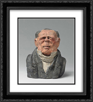 Benjamin Delessert, Industrial and MP 20x22 Black or Gold Ornate Framed and Double Matted Art Print by Honore Daumier