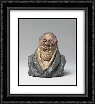 Count Horace Francois Sebastiani, General and Politician 20x22 Black or Gold Ornate Framed and Double Matted Art Print by Honore Daumier
