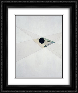 AXL II 20x24 Black or Gold Ornate Framed and Double Matted Art Print by Laszlo Moholy Nagy