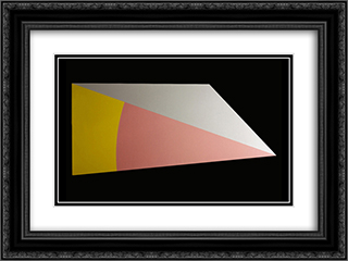April Fool's Point 24x18 Black or Gold Ornate Framed and Double Matted Art Print by Leo Valledor