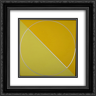 M & Child 20x20 Black or Gold Ornate Framed and Double Matted Art Print by Leo Valledor
