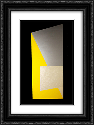 Sunstrut 18x24 Black or Gold Ornate Framed and Double Matted Art Print by Leo Valledor
