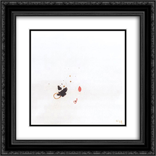 Untitled 20x20 Black or Gold Ornate Framed and Double Matted Art Print by Li Yuan Chia