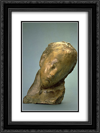 Sick Boy (Bambino malato) 18x24 Black or Gold Ornate Framed and Double Matted Art Print by Medardo Rosso