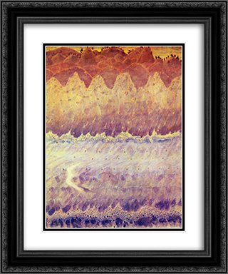 Allegro (Sonata of the Sea) 20x24 Black or Gold Ornate Framed and Double Matted Art Print by Mikalojus Ciurlionis