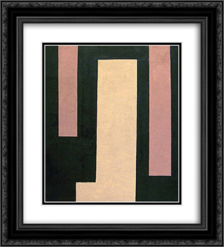 Untitled (April 15) 20x22 Black or Gold Ornate Framed and Double Matted Art Print by Myron Stout