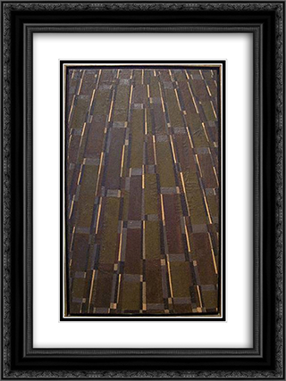 Untitled (Late September - December 10) 18x24 Black or Gold Ornate Framed and Double Matted Art Print by Myron Stout