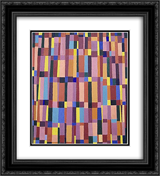 Untitled (May 20) 20x22 Black or Gold Ornate Framed and Double Matted Art Print by Myron Stout