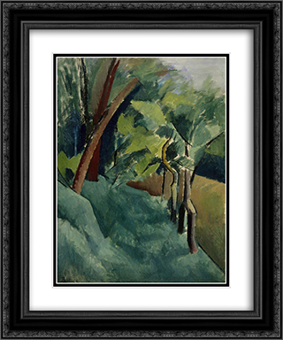 Landscape 20x24 Black or Gold Ornate Framed and Double Matted Art Print by Patrick Henry Bruce