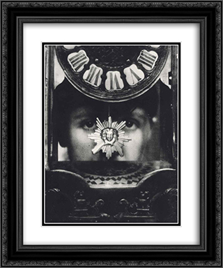 Tomorow is Mystery 20x24 Black or Gold Ornate Framed and Double Matted Art Print by Pierre Dubreuil