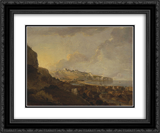 Dover 24x20 Black or Gold Ornate Framed and Double Matted Art Print by Richard Wilson