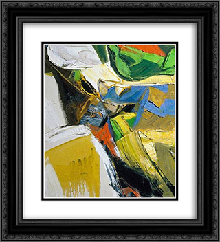 Summer #3 20x22 Black or Gold Ornate Framed and Double Matted Art Print by Richards Ruben