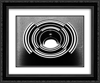 unknown title 24x20 Black or Gold Ornate Framed and Double Matted Art Print by Roberto Sambonet