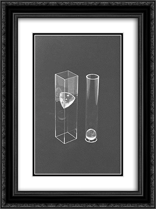 Tangents 18x24 Black or Gold Ornate Framed and Double Matted Art Print by Ruth Vollmer