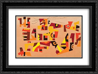 Untitled #39 24x18 Black or Gold Ornate Framed and Double Matted Art Print by Steve Wheeler