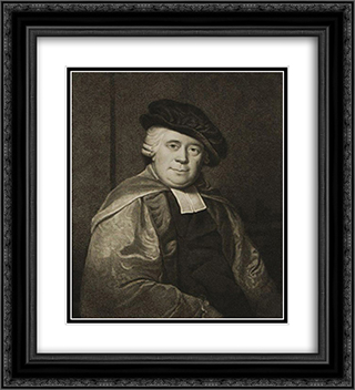 Samuel Arnold 20x22 Black or Gold Ornate Framed and Double Matted Art Print by Thomas Hardy