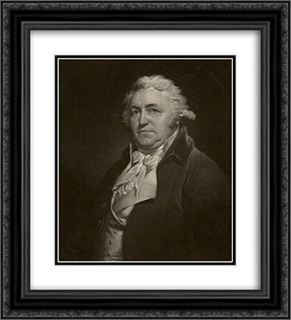 Thomas Littledale 20x22 Black or Gold Ornate Framed and Double Matted Art Print by Thomas Hardy