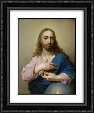 Jesus 20x24 Black or Gold Ornate Framed and Double Matted Art Print by Vladimir Borovikovsky