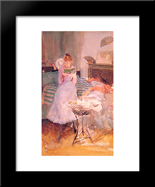Pink Note : The Novelette: Modern Custom Black Framed Art Print by James McNeill Whistler