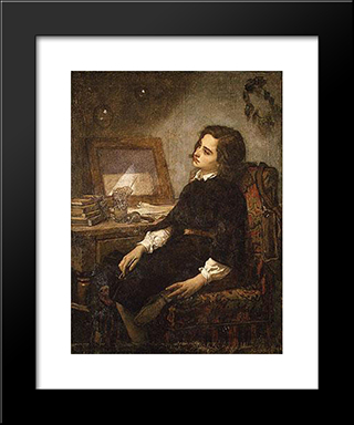 Soap Bubbles: Modern Custom Black Framed Art Print by Thomas Couture