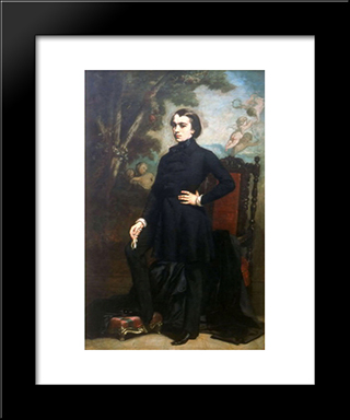Henri Didier: Modern Custom Black Framed Art Print by Thomas Couture