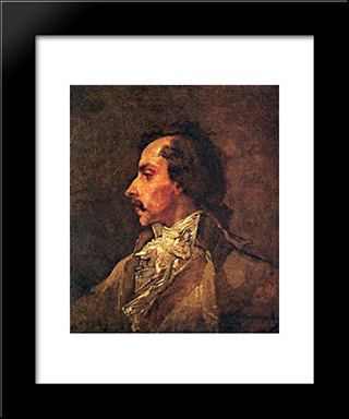 The Conventional One: Modern Custom Black Framed Art Print by Thomas Couture