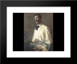 Alexander Harrison: Modern Black Framed Art Print by Cecilia Beaux