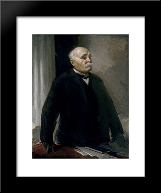 Georges Clemenceau: Modern Black Framed Art Print by Cecilia Beaux