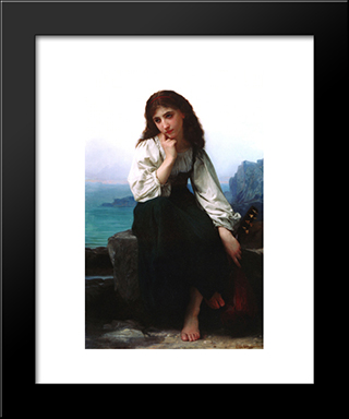 Garde: Modern Black Framed Art Print by Elizabeth Jane Gardner Bouguereau