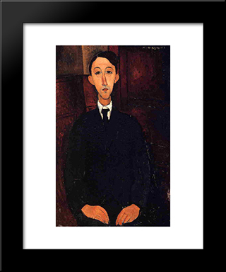 Manuel Humberg Esteve: Modern Black Framed Art Print by Amedeo Modigliani