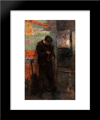 Mauvaise Recette: Modern Black Framed Art Print by Pericles Pantazis