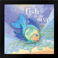 Fish in the Sea: Framed Art Print by Archer, Nancy