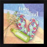 Toes in the Sand: Framed Art Print by Archer, Nancy