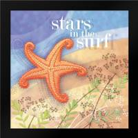 Stars in the Surf: Framed Art Print by Archer, Nancy