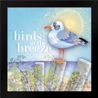 Birds in the Breeze: Framed Art Print by Archer, Nancy